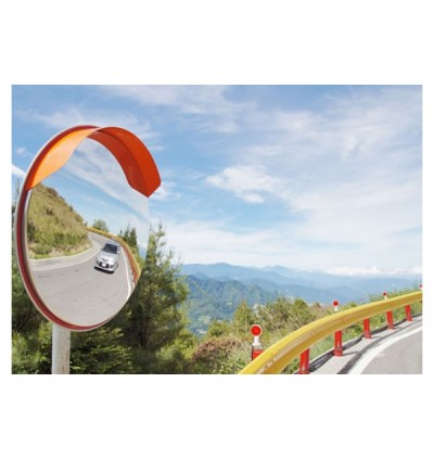 SAFER Outdoor 600 Stainless Steel Safety Convex Mirror