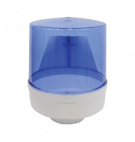 Centre Pull Kitchen Towel Dispenser - Blue Transparent