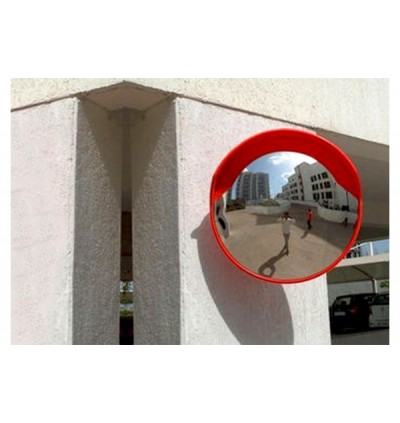 SAFER Outdoor 490 Stainless Steel Safety Convex Mirror