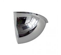 "Crystal Quarter Dome 36"" USA Acrylic Safety Mirror"