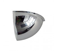 "Crystal Quarter Dome 26"" USA Acrylic Safety Mirror"