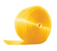 Ribbed Anti Insect Yellow PVC Strip Roll 200mm x 2mm x 50m