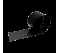Flat Solid Black PVC Strip Roll 200mm x 2mm x 50m