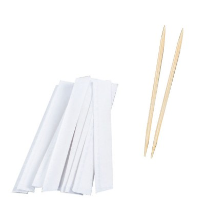 Toothpick with Paper Wrap - 1Box (1000PC)