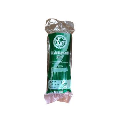 "(XXL) 35"" x 46"" Oxo Biodegradable Black Garbage Bag - 10PCS x 30Rolls"