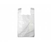 Singlet Plastic Bag (White)