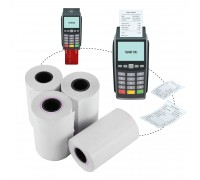 Credit Card Thermal Paper Roll 57mm x 15m 48gsm 100rolls/box
