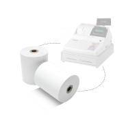 Cash Registry Thermal Paper Roll 57mm 48gsm 100rolls/box