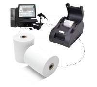 Pos Thermal Paper Roll 80mm x 60mm 48gsm 100rolls/box
