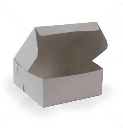 "Cake Box 6""x4""x3"" White (Food Grade)"