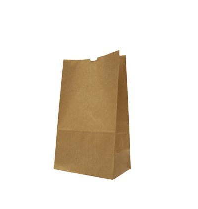Brown Paper Bag 10 75gsm (L254xW130xH400) - 250PCS