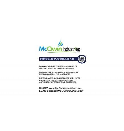 Sticky Glueboard x 24pcs - McQwin Bluestar & Salamander