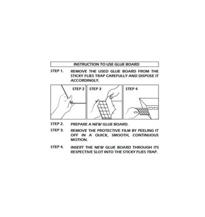 Sticky Glueboard x 12pcs - McQwin Colossus