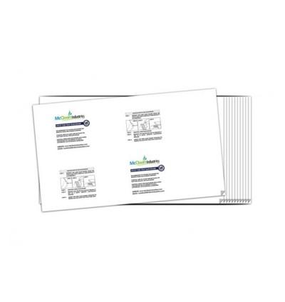 Sticky Glueboard x 12pcs - McQwin Iguana & Waterwheel