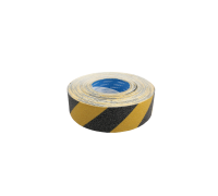 Anti-Slip Tape Hazard Yellow & Black - Outdoor Grade 25mm x 18m