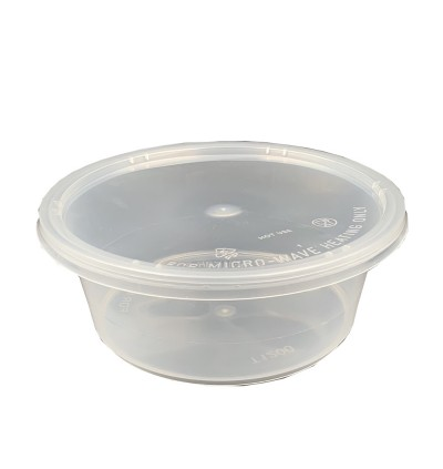 CB 1200 Round Container with Lid - 150PCS