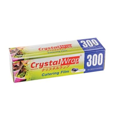 "CrystalWrap Catering Film 300mm (12"") x 300metre [12rolls]"