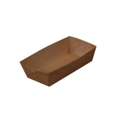 Plain Paper Boat Tray (Small/Large) - 500PCS