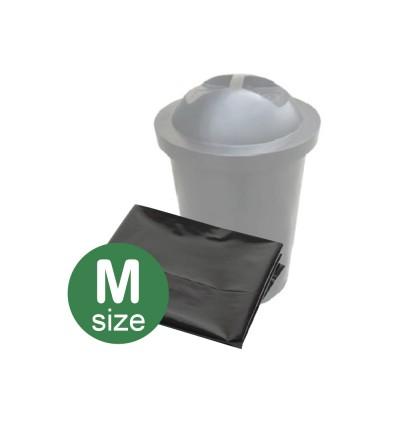 """(M) Black Garbage Bag 22"""" x 33"""""""