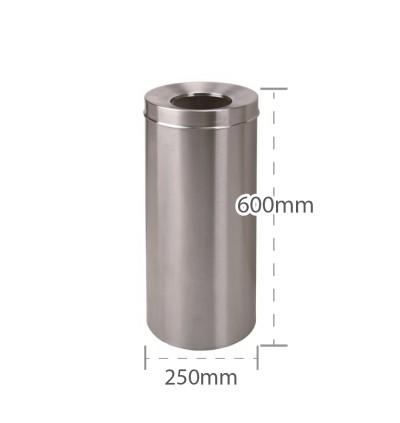 Round Stainless Steel Bin (RAB-074/SS)
