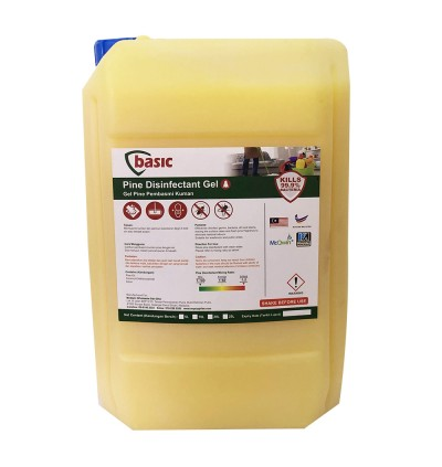 McQwin Basic Gel Pine Disinfectant - 10L